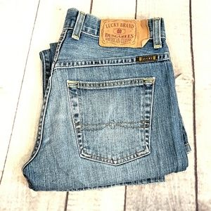 LUCKY BRAND BLUE JEANS SIZE 2/26